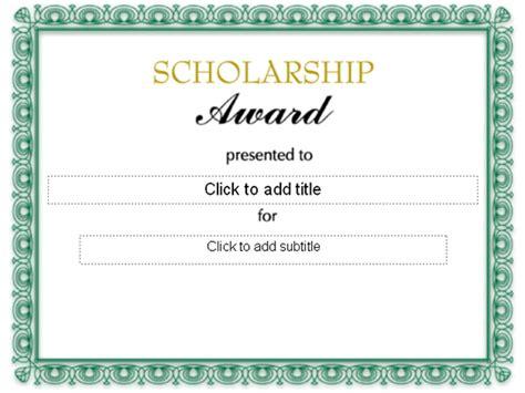 formal award certificate template free award template helloalive