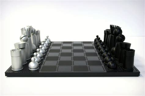 Cool Chess Set by Mars Made Chess Set Cool Material