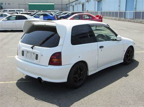 Toyota Starlet Glanza V Turbo For Sale Featured 1997 Toyota Starlet Glanza V Turbo At J Spec Imports