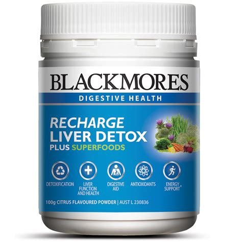 Liver Detox Systems by Buy Blackmores Recharge Liver Detox 100g At Chemist