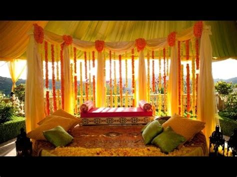 indian wedding decoration  home youtube