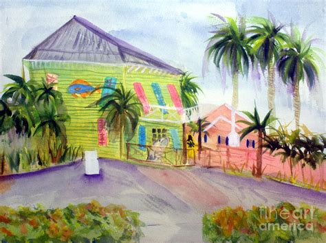 key lime house old key lime house painting by donna walsh