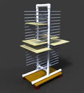 Cabinet Door Rack Painting Rack For Cabinet Doors Etc Alibre Design Step Iges 3d Cad Model Grabcad