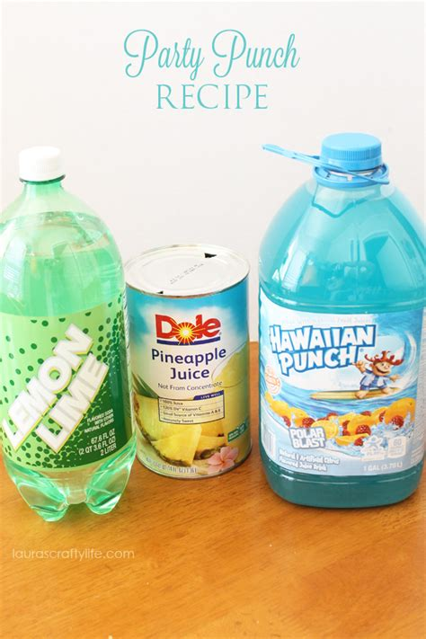 Blue Baby Shower Punch With by Summer Punch Recipes Liz On Call