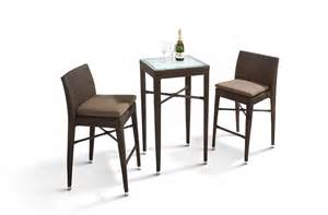reva outdoor bar set rectangular table and 4 chairs outdoor furniture sets