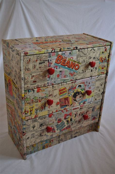 decoupage chest of drawers one decoupage chest of drawers all unique made