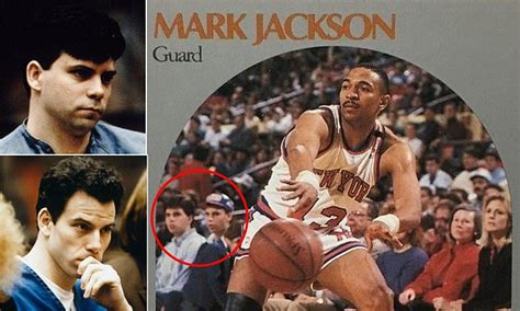 mark jackson menendez brothers card for sale ex knick mark jackson s basketball card reportedly