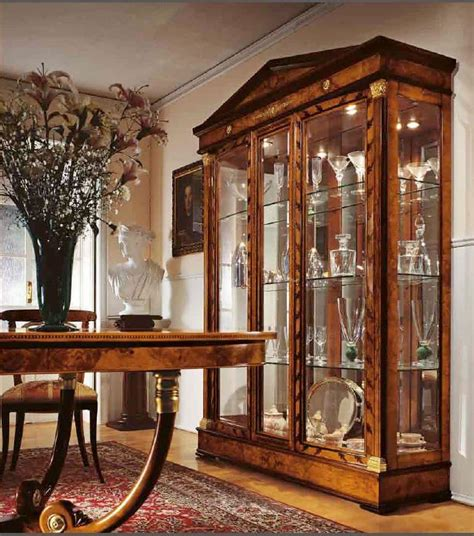 classic display cabinet dining room 3 door display