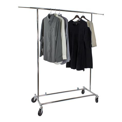 Uline Clothes Rack by Garment Rack Image Is Loading Oceanstar Adjustable