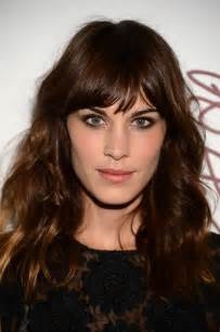 hair styles actresses from in cleveland celebrity hair idea for fall alexa chung long wavy