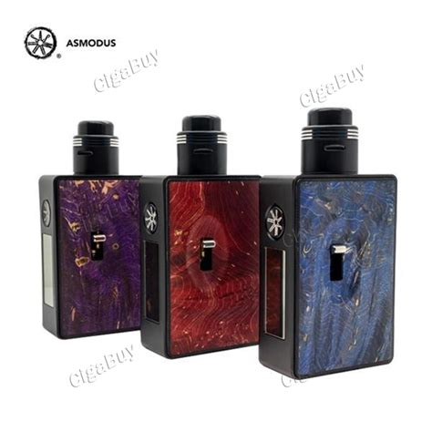 Authentic Asmodus Squonk Mod 121 43 authentic asmodus spruzza 80w tc squonk kit random color cigabuy