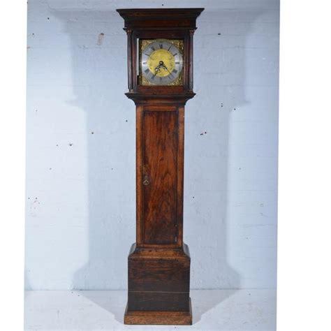 moulded cornice oak longcase clock moulded cornice plain frieze the