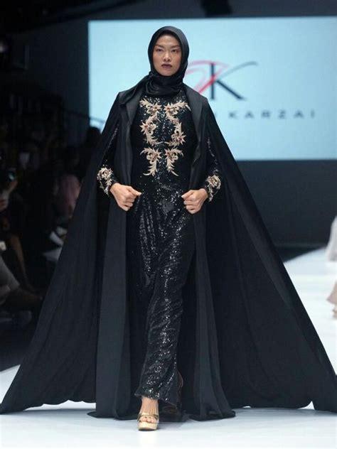 Jumpsuit Baju Terusan 14 model baju pesta muslim mewah dan elegan terbaru 2018