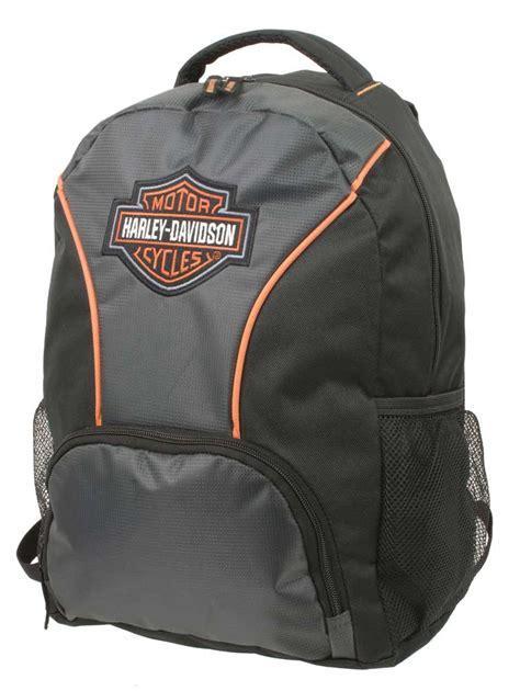 harley davidson embroidered bar shield colorblocked backpack black 7180609 ebay