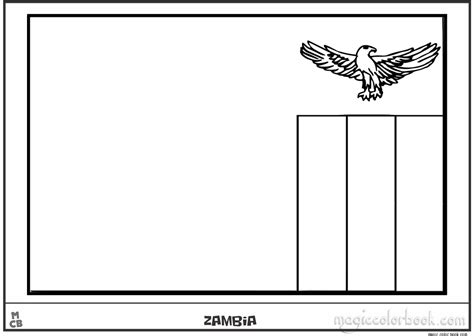 zambia flag coloring page related keywords suggestions