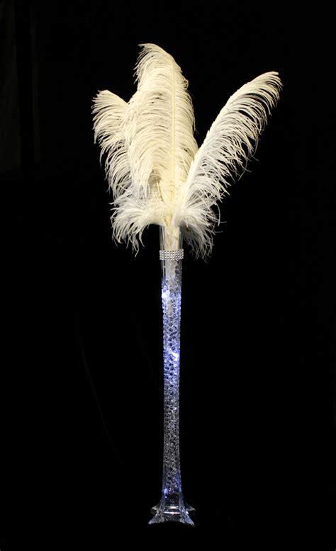 eiffel tower vase lights 10 pack eiffel tower vase light white