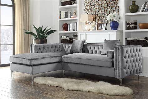 Velvet Sectional Couches by Velvet Sectional Sofa