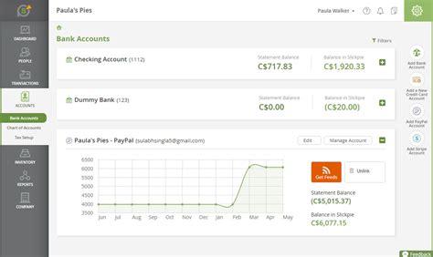 live bank get live bank feeds slickpie invoicing