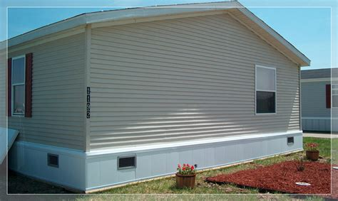mobile home insulated skirting
