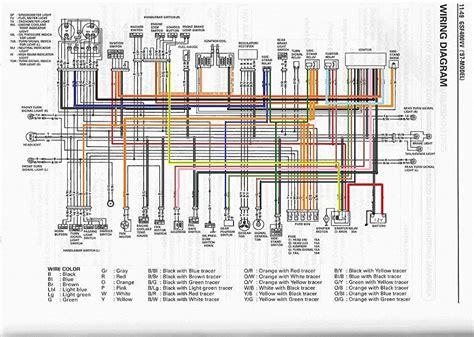 suzuki bandit 600 wiring diagram wiring diagram with