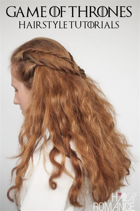 braided hairstyles games 18 cersei lannister rope braid fuel your braid