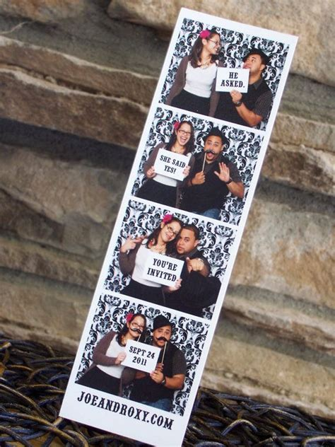 wedding invitations photo booth save the date photo booth magnet photo booth