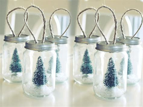 turning baby food jars into christmas ornaments craft