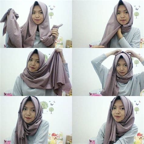 Tutorial Hijab Pashmina Lebaran | best 25 pashmina hijab tutorial ideas on pinterest