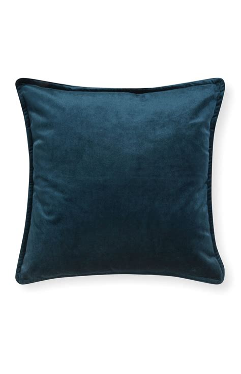 Primark Cusions an extraordinary teal velvet cushion for primark
