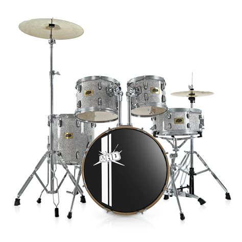 swing drums whd birch 5 piece swing drum kit whd cymbal pack silver