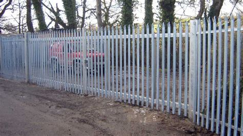 palisade high security vehicle gates pedestrian palisade secure enclsoure gate security