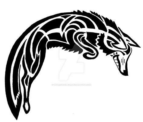 spirit coyote tattoo design by sparkus clark on deviantart