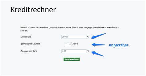 kfw bank kreditrechner kredit rechner tilgungsrechner annuit 228 tenrechner