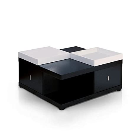 Coffee Table Serving Tray Iohomes Square Coffee Table With Serving Tray Black New Build Ideas