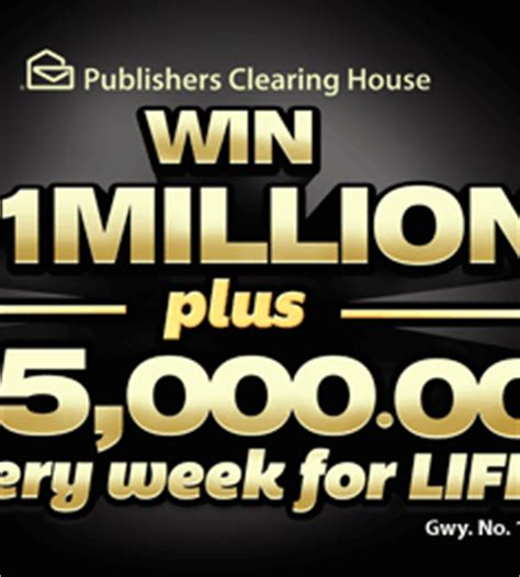 Winner Of 5000 A Week For Life From Pch - enter to win 1 million plus 5000 a week for life from pch share the knownledge