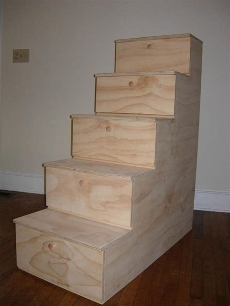 How To Build Bunk Bed Stairs Build Your Own Bunk Beds With Stairs Woodworking Projects Plans