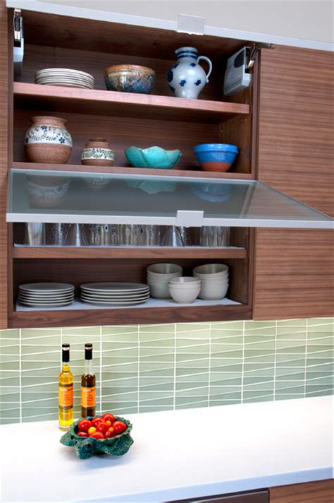 mid century modern kitchen cabinet doors awning style pull out glass cabinet doors midcentury