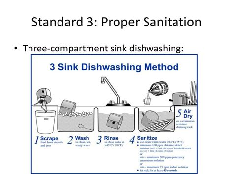 three compartment sink rules 3 compartment sink procedure sinks ideas