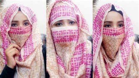 niqab tutorial step by step dailymotion how to tie niqab hijab tutorial niqab tutorial very easy