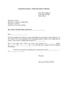 collections notice template notice collection letter this letter is the