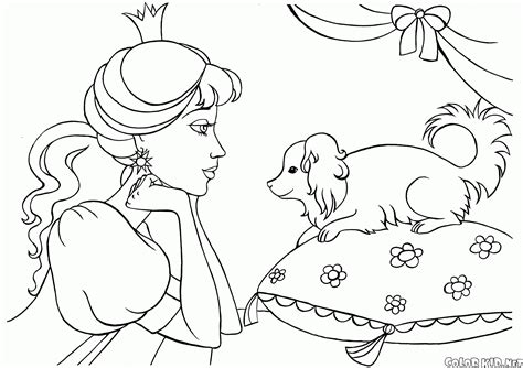in an coloring book with relaxing and beautiful coloring pages books boyama sayfas箟 meditasyon prenses