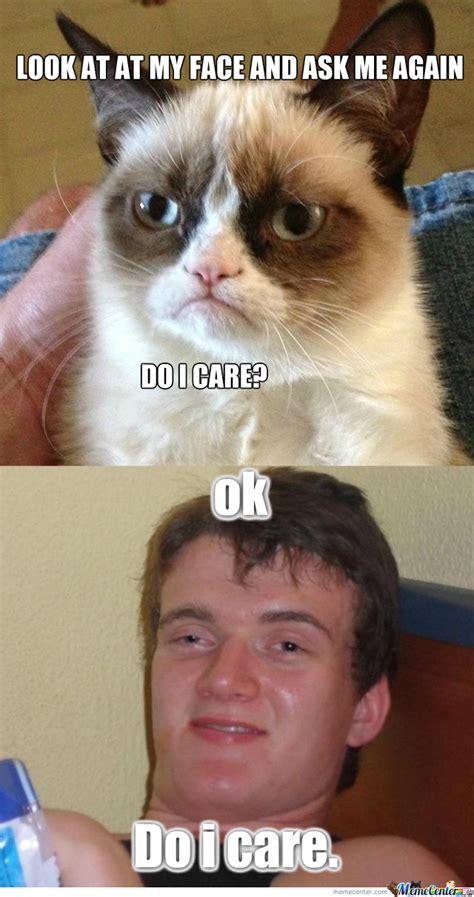 do i care meme rmx do you care no by evilneck meme center