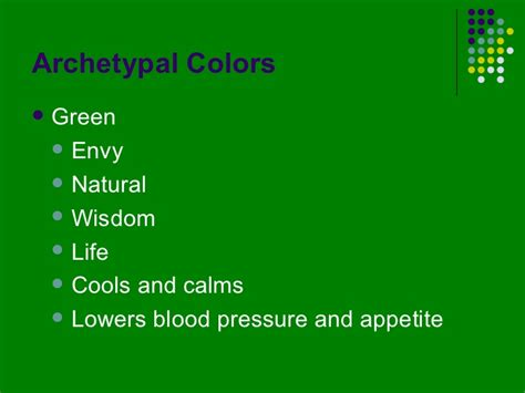 color psychology green the psychology of color