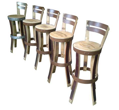 mobilier de bar chaise haute pesonnalisable en teinte et