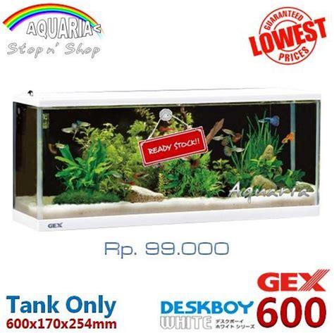 paket aquarium gex m by aquapedia jual paket gex deskboy 600 aquarium aquaria shop
