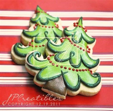 christmas tree cookies cookie x mas pinterest