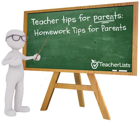 Parent Tips On Homework by Homework Tips For Parents Tips For Parents