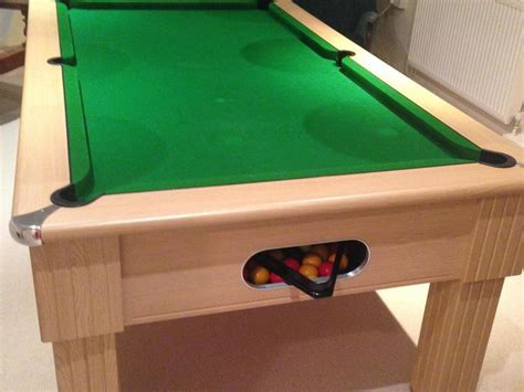 Pool Table And Overhead Light Cowes Wightbay