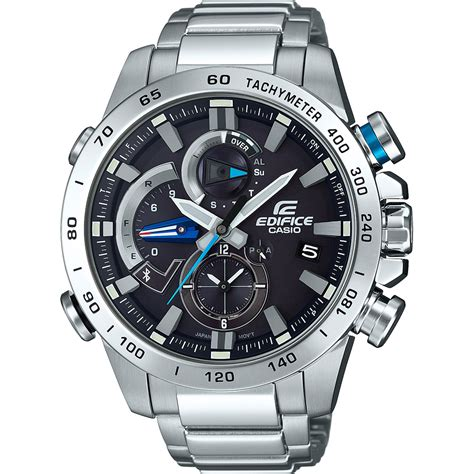casio bluetooth montre casio edifice bluetooth eqb 800d 1aer bluetooth
