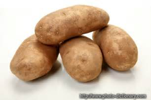 russet potatoes photo picture definition at photo